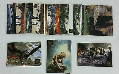Topps Lord of the Rings TRADING CARD - 47 Cards - Misc Lot