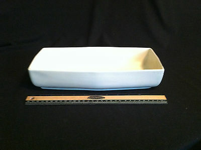LARGE 12 1/2 in Red Wing Planter/Console Bowl Creamy White Mid Century Modern