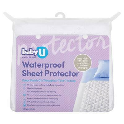Baby U Waterproof Sheet Protector Online Only