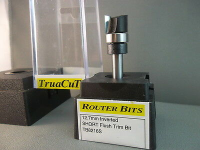 Router Bit-12.7mm Inverted Flush Trim TB8216S (TruaCuT)