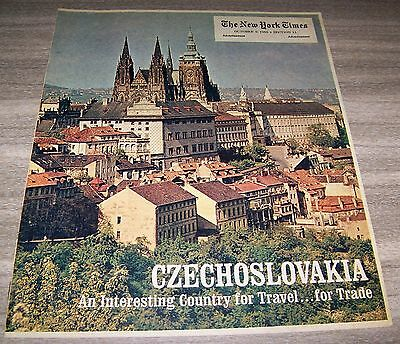 The New York Times October 9, 1966 Section 11 Czechoslovakia
