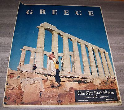 The New York Times January 29, 1967 Section 12 Greece