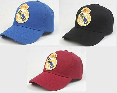 Real Madrid Fc Baseball cap Black Red & Blue