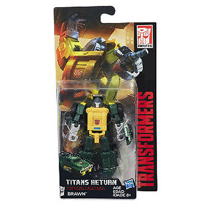 HASBRO Transformers Generations Titans Return Wave 4 Legend Class # Brawn