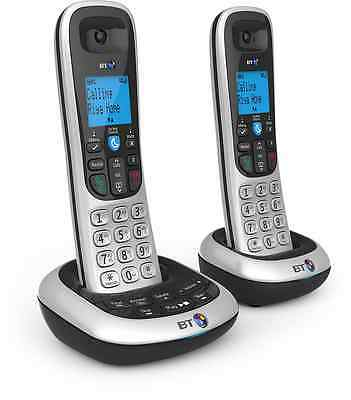BT 2700 Nuisance Call Blocker Cordless Home Phone with Digital Answer Machine -