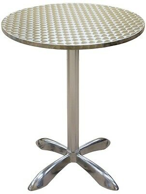 "Beautiful New 30"" Round Barheight Outdoor Patio Restaurant Table Furniture"