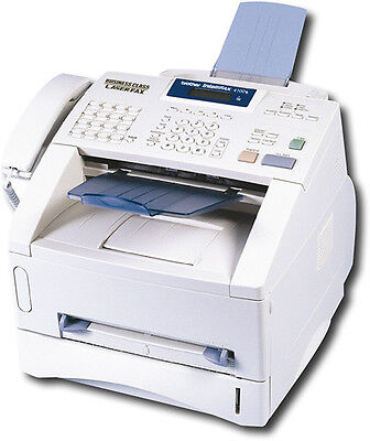Brother - INTELLIFAX-4100E Intellifax Fax/ Printer/ Copier - White