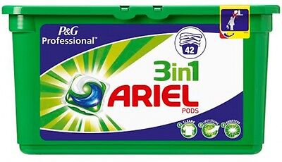 Laundry Tablets Ariel 3 In 1 Liquitabs 2 x 42 Pack