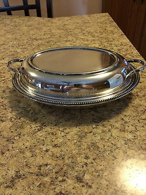 WM. Hutton & Sons ,Ld Silver Plated Entree Dish With Lid