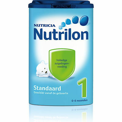5x Nutrilon 1 standard (5x850 gram) -100% original Dutch Baby Powder Milk