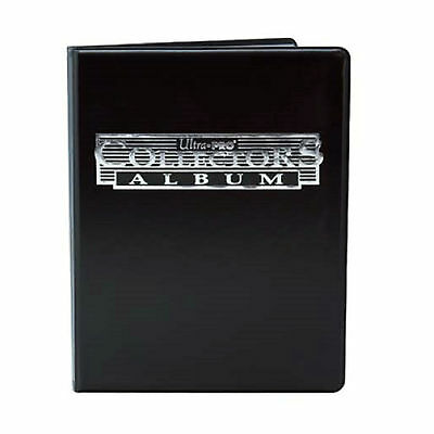 Ultra Pro Black 4-Pocket Collectors Portfolio: Trading Card Album YuGiOh Pokemon