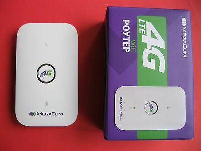 HUAWEI E5573 4G LTE 3G Cat4 Mobile WiFi Wireless Hotspot Router Modem White NEW