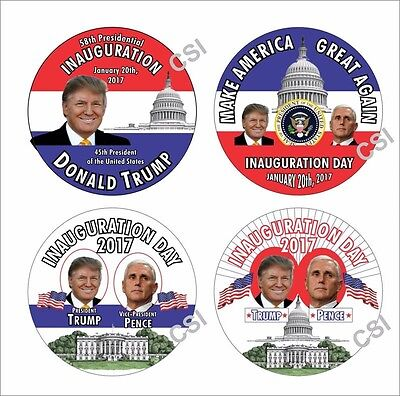 Trump Inauguration buttons - TWO COMPLETE SETS