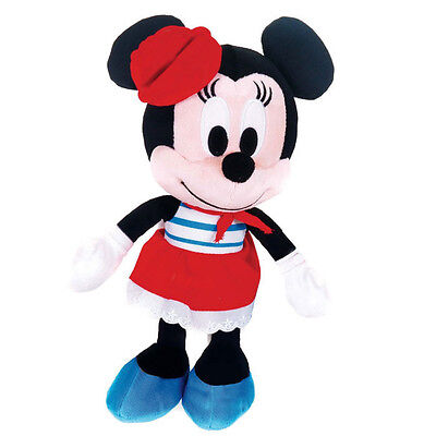 "Brand New Disney I Love Minnie Mouse 8"" Plush in Sailor Kids Cuddley Toy"