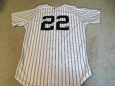 Jacoby Ellsbury Signed Game Used 2015 Opening Day Jersey - PSA, MLB and Steiner