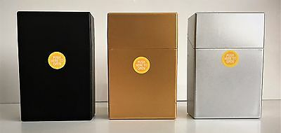 KING SIZE CIGARETTE BOX/CASE CIG PACK Cigarettes Choice of 3 Colours