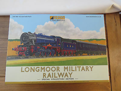 N Gauge Graham Farish Longmoor Military Railway Set