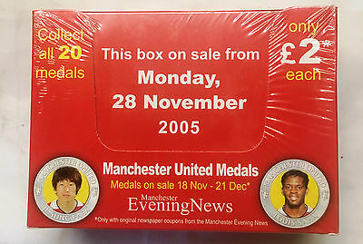40 Medals xManchester United 2005/06  MEDAL COLLECTION Medals 7 8 9 and 10 Coins