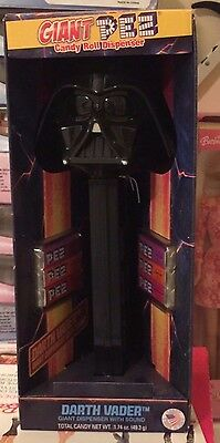 Darth Vader Star Wars Large  Giant Pez Candy Dispenser With Sound NEW