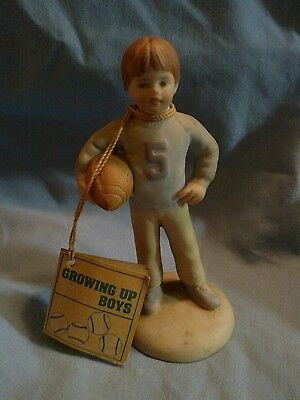 Vintage Growing Up Boys figurine