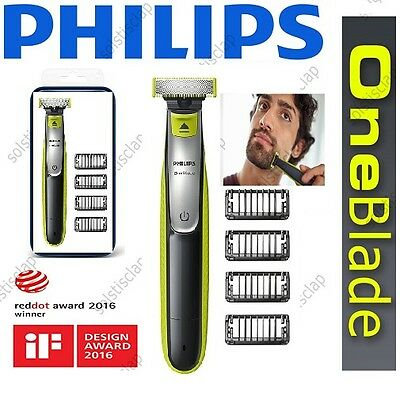 Philips QP2520/25 OneBlade One Blade Shaver- 3 Stubble Combs-***NEW & SEALED***