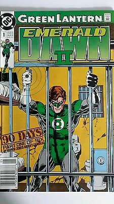 DC Comics GREEN LANTERN: EMERALD DAWN II Issue #1