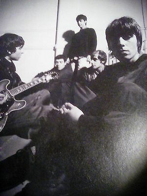 Early Oasis in Studio 1993 B&W Picture Taken from Book Printed 2005 to Frame?