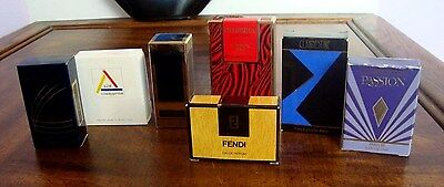 Rare Womens Perfume  Fragrance Miniatures Assortment Lot Of 7