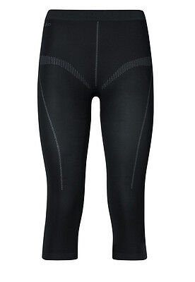 Odlo Womens Evolution 3/4 Baselayer Pants Light, black, brand new, various sizes