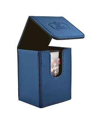 Ultimate Guard - Flip Deck Case Leatherette Material 80+ Blue - Karten Boxen