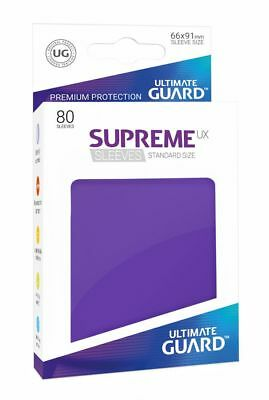 Ultimate Guard - Supreme UX Sleeves Standard Purple 80 Stück Kartenhüllen Hüllen
