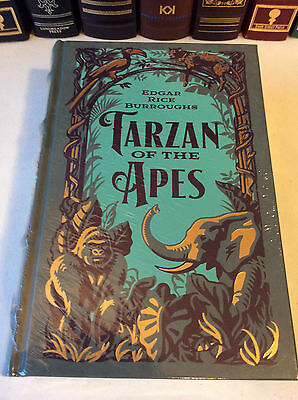 Tarzan of the Apes - 3 volumes in 1 leather-bound -New-inc Return of & Beasts of
