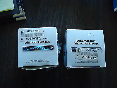 10 New Dicemaster Diamond Blades 2.25M-8C-64R7-3 By Thermocarbon Inc.