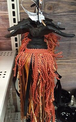 NEW Bat Halloween Hanging Tassel