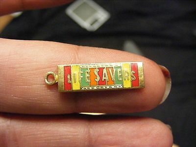 vintage lifesavers candy charm