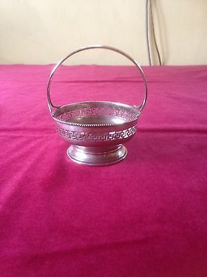 Antique Continental Silver Small Handle Trinket Bowl