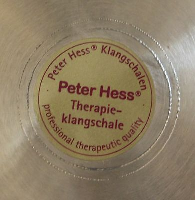 Peter Hess THERAPIE Quality Singing bowl set no. 40 Sonorous