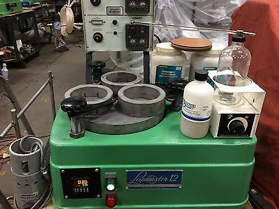 Lapmaster 12 Lapping And Polishing W/diamond Slurry System