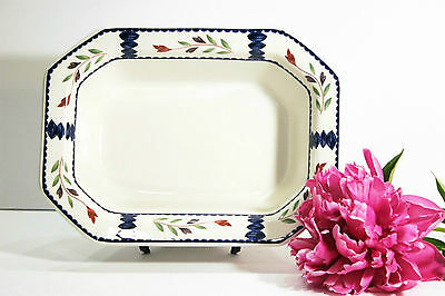 """Adams LANCASTER 10"""" Oval Open Vegetable Bowl Retired, Made in England, MINT!"""