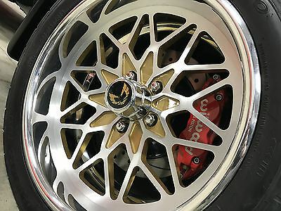"Snowflake Billet Wheels 18"" Gold Bandit Series"
