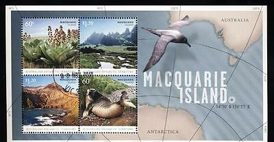 (936382) Birds, Map, Seal, A.A.T. - cto used -