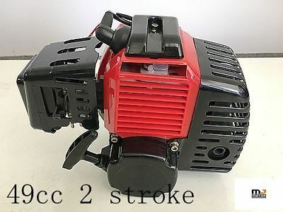 49cc 2 stroke Pull Start Engine Motor Mini Pocket Scooter Chopper Dirt Bike