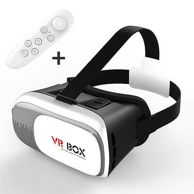 3D VR Virtual Reality Glasses Headset + FREE PAD Google, iPhone, Samsung, androi