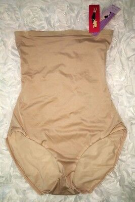 SPANX Hide Sleek Nude High Waisted Brief Super Control Panty NEW Womens Sz S
