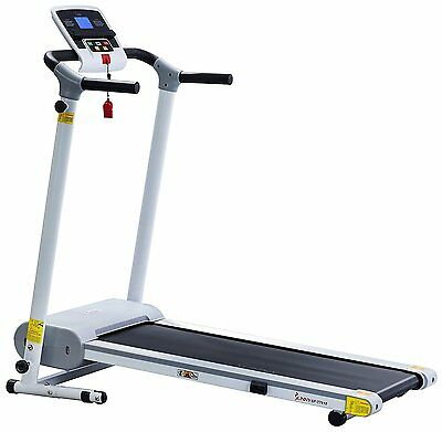 Sunny Health & Fitness Easy Assembly Motorized Walking Treadmill White