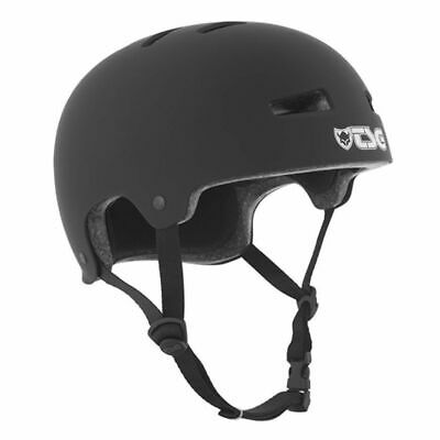 TSG Evolution Bike and Skate Helmet - Satin Black TSG
