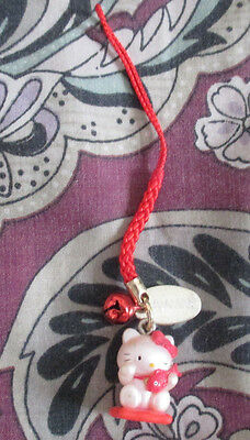 "Hello Kitty 1"" Phone Strap Charm #14"