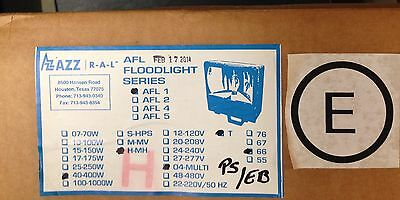 AZZ Rig A Lite AFL1 400WT MH HID Light (Arena, Parking Lot ,Oil&Gas) with bulb