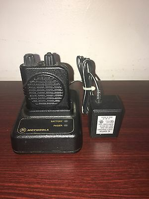 Motorola Minitor 4 Vhf Pager 2 Channel Stored Voice