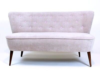 Mid-Century Modern Retro 1950's  Cocktail Sofa Loveseat